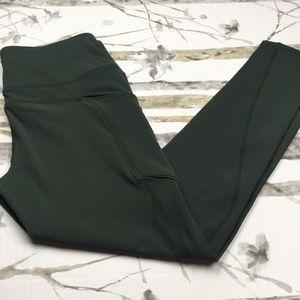 Tangerine Athletic Pants, full length, size M
